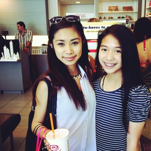 "jsanchezfan:  ilovemesomejay:   ""Jessica Sanchez!!!!!!! oh my gosh. 😍💗""   From mmvsoriyeahknow's instagram.  WAS THIS TODAY?! OH MY.. SEXY BEAST<3"