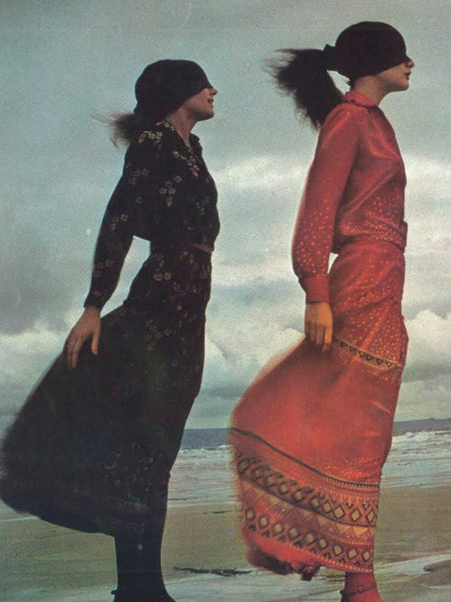 illmakeyoubreakfast:   Guy Bourdin for Vogue Paris, 1971.