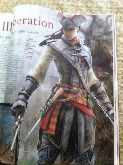 pinstripesuit:  fuckyeahasscreed:  AC3 is getting a spin-off for the PS Vita, and this game, subtitled Liberation, takes place in 1700s New Orleans with a female lead character named Aveline, who is French and African American. it also appears that this story has nothing to do with Desmond, and will come out the same day as AC3.   thank you ubisoft there needs to be more hot-ass lady assassin-pirates in my life