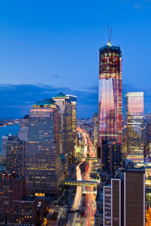 One World Trade Center Progress March 2012 #2 (by RBudhu)