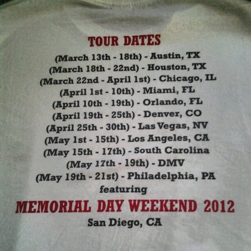 Memorial Day Weekend 2012 feat. HoodChefFoodTour.com