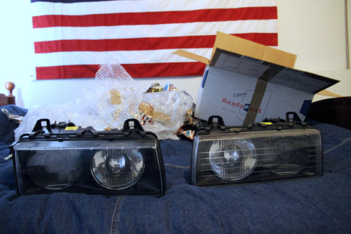 New Bosch headlights for the E36!