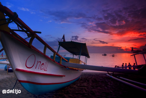 dalijo:  Boat and sunset: great combination Senggigi, Lombok, West Nusa Tenggara, Indonesia.
