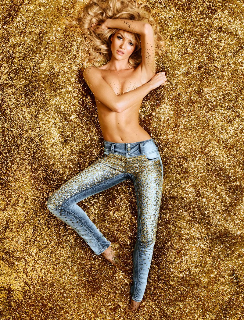 (via Candice Swanepoel is Golden Sexy for Colcci's Luxury Campaign by Fabio Bartelt)