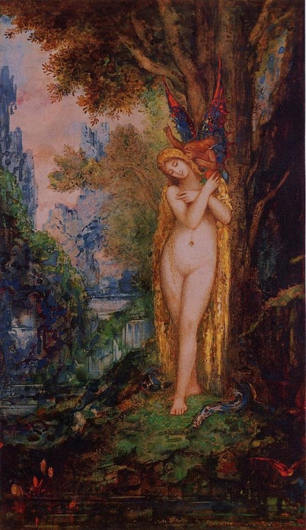 earthoscope:  Gustave Moreau - Eve