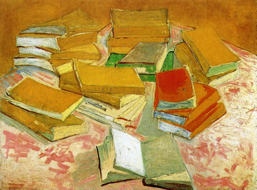 toomuchart:  Vincent van Gogh, Still Life: French Novels, c. 1888.