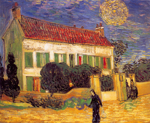 Vincent van Gogh, White House at Night, 1890.