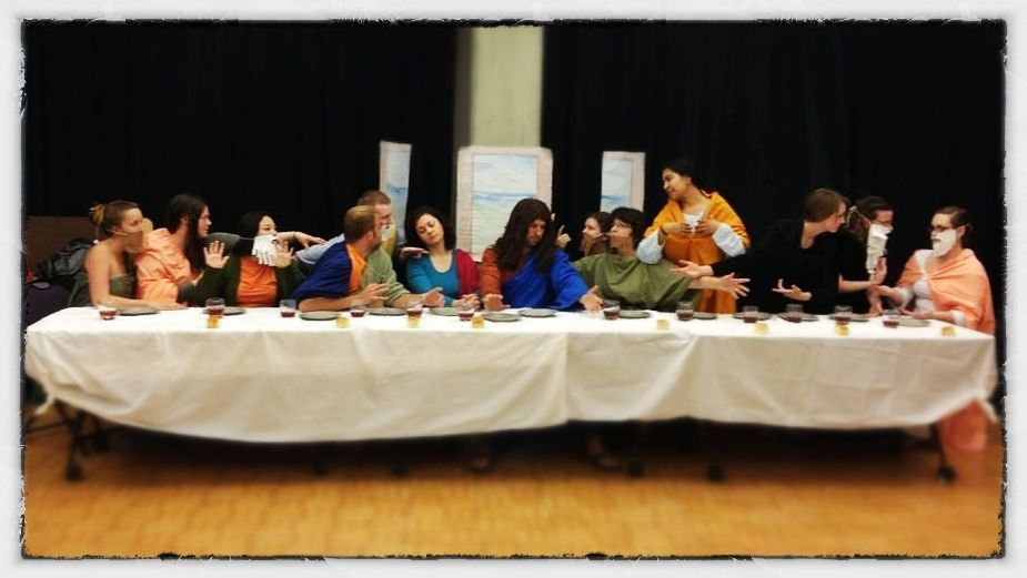 The Last Supper (Not taken by me but I am in it)