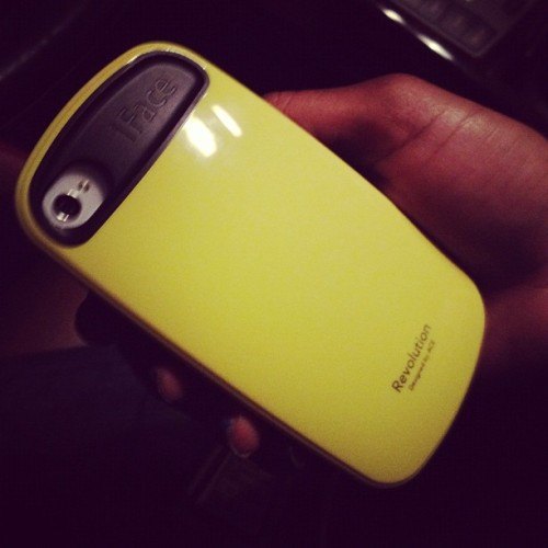 Never saw this case. So my lady went with it. #SheSpoiled (Taken with instagram)