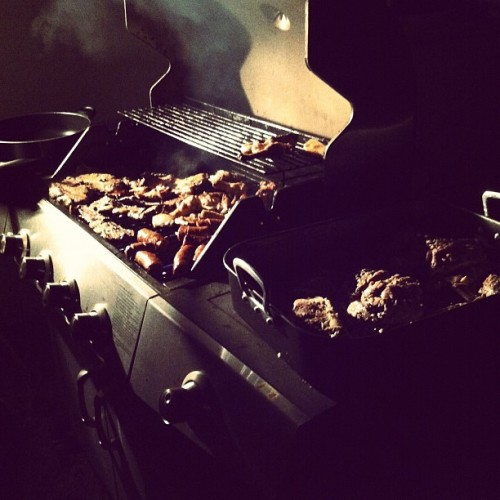 Nice grill shot by irisjaycee!