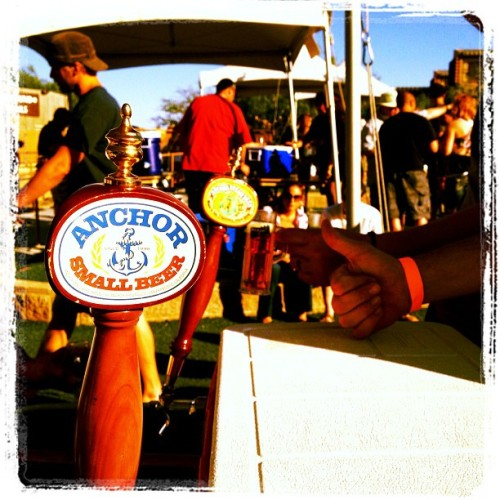 @AnchorBrewing gets a thumbs up at @SpringsPreserve #BrewsAndBlues (Taken with Instagram at Springs Preserve)