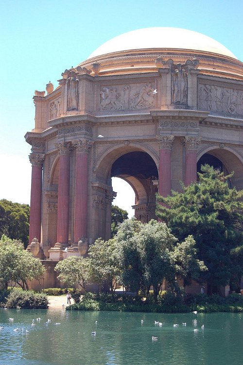 metrodorus:  Palace of Fine Arts   (via imgTumble)