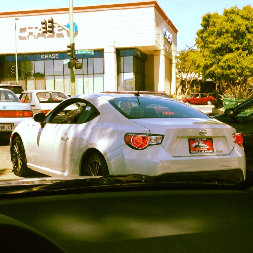 Spotted. The new Scion FRS.