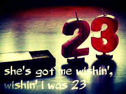 Wishing I Was 23 by R5. Had this song stuck in my head all day XD