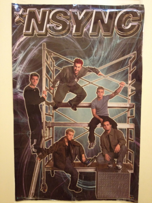 This exact poster used to hang shrine-like in my bedroom. #memories fknportland:  N'Sync is still big here. Fkn Portland…