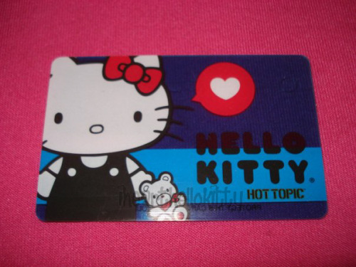 Hello Kitty Gift Card from Hot Topic (via ihearthellokitty)