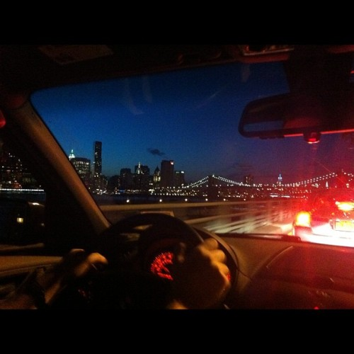 Cool drive home (Taken with instagram)