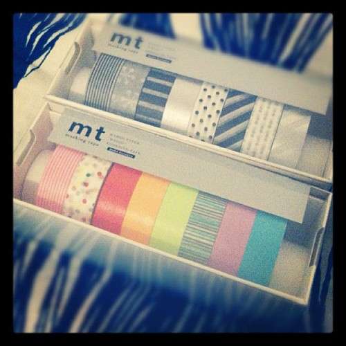 Some new tape to my collection ~ (Taken with Instagram at 千駄ヶ谷)
