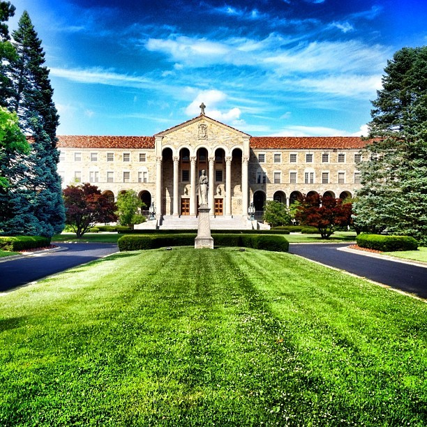 St. Mary's Seminary #cincinnati #ohio by cincyimages http://instagr.am/p/LYzbIvIjT7/