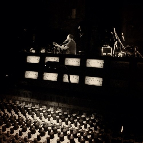 Best seat in the house. #ilovemyjob #bazan #davidbazan #sound  (Taken with instagram)