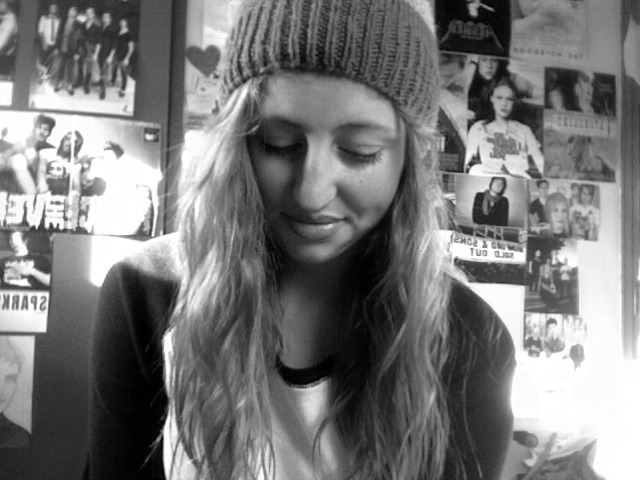 being a loser per usual. but i found my beanie so yeah :)