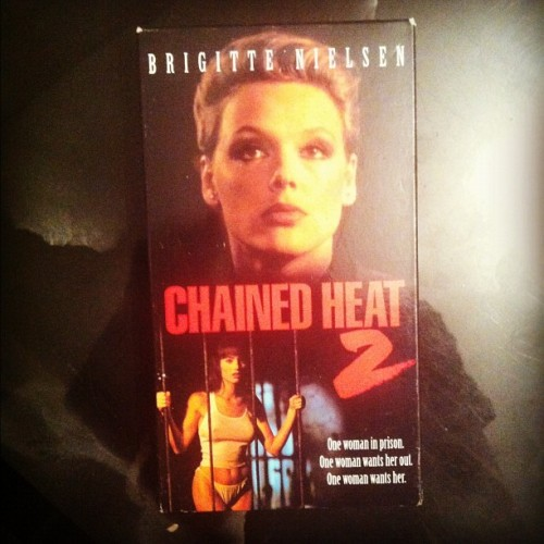 Chained Heat 2 #vhs Found this one today 📼 (Taken with instagram)