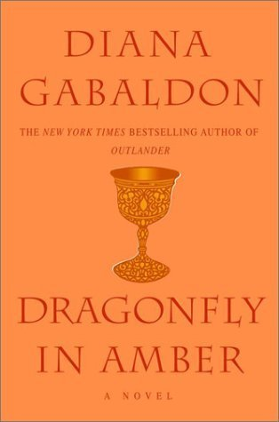 Currently reading Dragonfly in Amber by Diana Gabaldon.   It's been over a year since I read the first book in the series but I remember how much I loved Jamie and Claire and how much I envied their love.   I always said I'd give anything to love someone like that. I do love someone like that. He is my whole heart and soul. I'm a lucky, lucky woman.   But really, if you haven't read Outlander, the first in the series, read it. It's so fantastic.