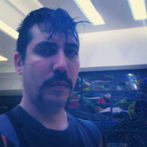 The stache… is back! (Taken with instagram)