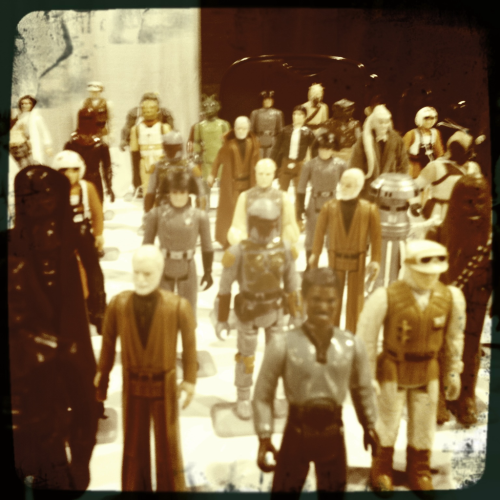 Star Wars figures. Wizard World Philly 2012.