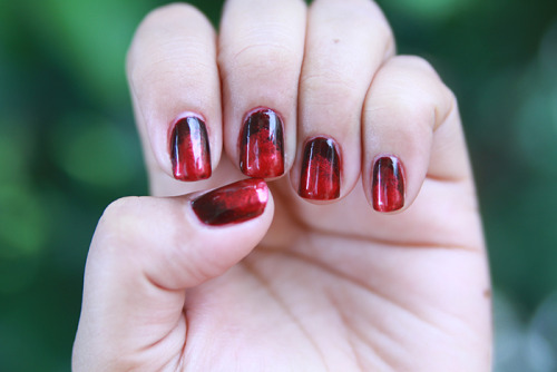 Ombre nails: Color Club in Killer Curves & Special Effects