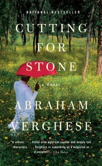 Cutting for Stone by Abraham Verghese: literally the BEST fiction book I have ever read.