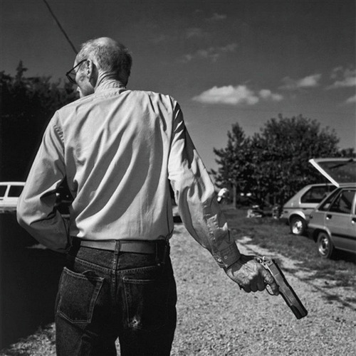 tamburina:  William S. Burroughs by Volker Hinz