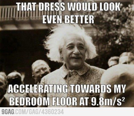 9gag:  Einstein is Smooth