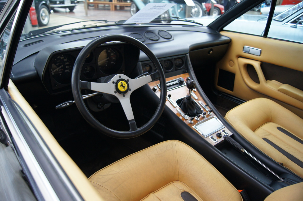 Submission: Ferrari 400 GT - late 70s dash is best with wood and switchgear before being butchered in later upgrade