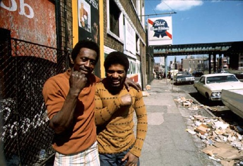 John H. White, Chicago ghetto on the South Side, May 1974.
