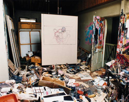 francis bacon's studio at the time of his death