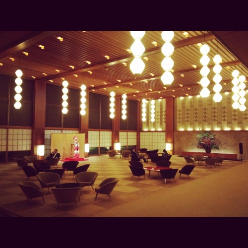 Okura Hotel Tokyo where I`ve spent many months since I was a child..