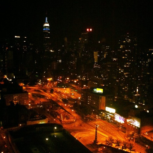 Goodnight, New York. (Taken with instagram)