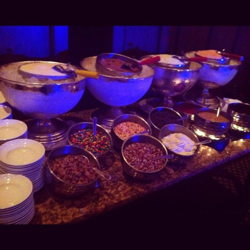 sundae bar (Taken with Instagram at The Ritz-Carlton Lodge, Reynolds Plantation)