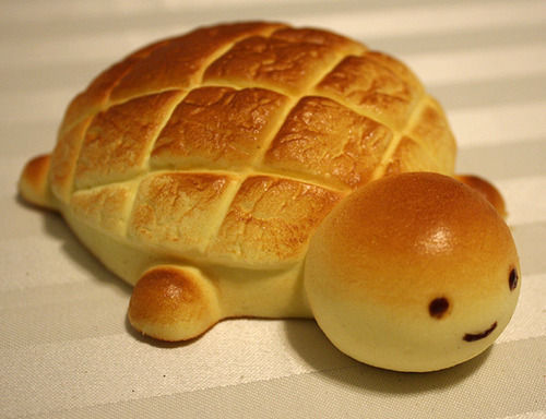 wtfoodporn:  Quite possibly the cutest bread you will ever see    So what if I reblog my other blog? This is cute as fuck