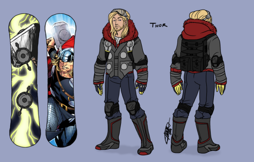 damnitfeelsgoodtobeafangirl:  SSXvengers part 1 of 6 Thor Odinson Not totally loving this but god damn there is too much detail in all his shit. Also this is a terrible turn around. Most of this shit doesn't even line up. I regret everything already. Only 5 to go, no big deal. what have i done to myself