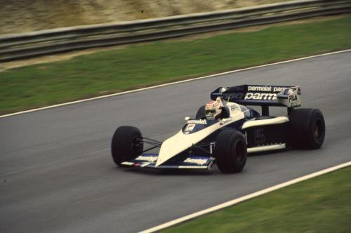 While every other team produced shockingly ugly cars in 1983, the Brabham BT52B was a shining example of what could be. I'd say it took until the 1991 Ferrari for a post-wing car Formula One car to look prettier than this. Good show, Gordon Murray. And not only was it pretty, it was also fast, winning Brazilian Nelson Piquet his second title in three years.