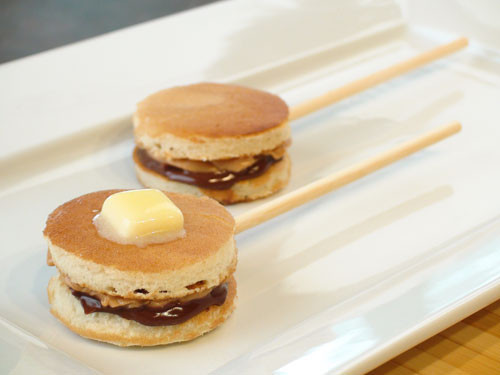 Pancake on a Stick! Get it Here https://www.sexyeatz.com/