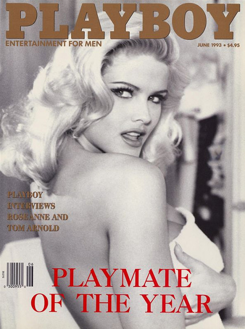 Anna Nicole Smith Playboy Magazine June 1993