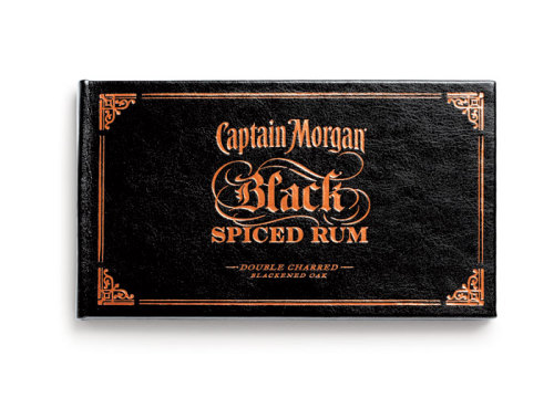 visualgraphic:  Captain Morgan Black Spiced Rum
