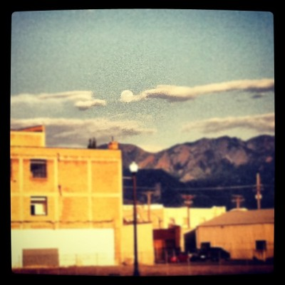 #daylight #moonrise #slc #utah #instautah  (Taken with instagram)
