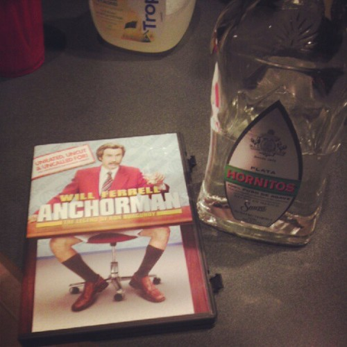 So much win! #anchorman #Saturday #night (Taken with instagram)