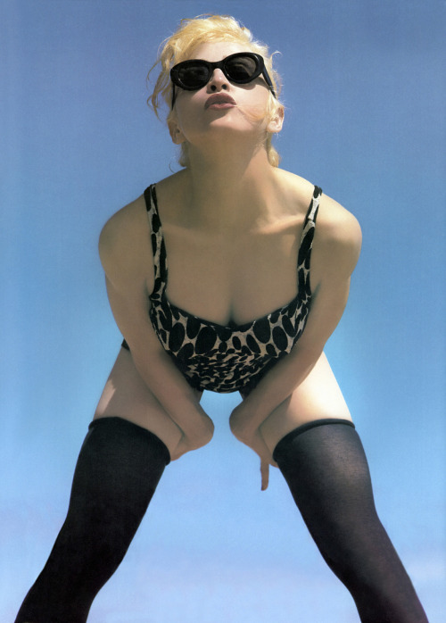 suicideblonde:  Madonna photographed by Steven Meisel in 1991