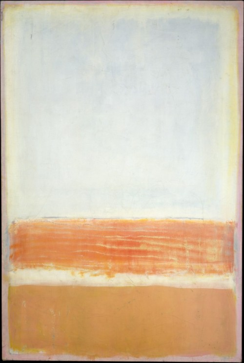 fckyeaharthistory:  Mark Rothko - Untitled, 1954. Oil and acrylic with powdered pigments on canvas