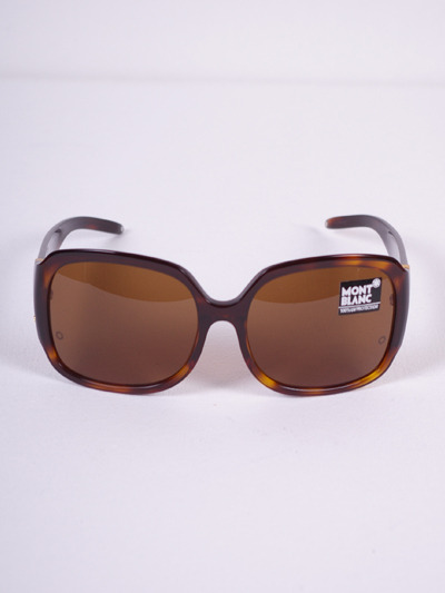 Mont Blanc Classy MB221 Oversized Sunglasses - Leopard BrownMore photos & another fashion brands: bit.ly/JFs1XF